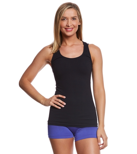 NUX Freedom T-Back Seamless Yoga Tank Top At YogaOutlet