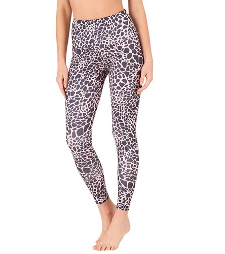 3a9296cf49 Onzie High Waisted Basic 7/8 Yoga Leggings at YogaOutlet.com - Free ...