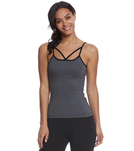 d93e369dc6441 Hard Tail Strappy Front Yoga Tank Top at YogaOutlet.com - Free Shipping