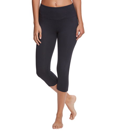 4aadd8f68f7e2 Balance Collection High Waisted Yoga Capris at YogaOutlet.com - Free  Shipping