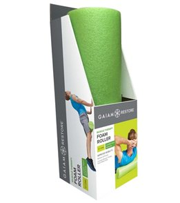 Gaiam Restore Muscle Therapy Foam Roller (18 x 6 Diameter)