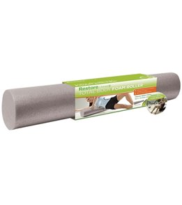 Gaiam Restore Total Body Foam Roller (36 x 6 Diameter)