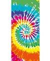 Dohler 30'' x 60'' Colorful Tie-Dye Towel