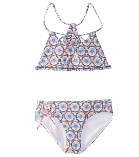 16fe479bfff O'Neill Girls' Evie Reversible Bralette Bikini Set (7-14) at SwimOutlet.com  - Free Shipping