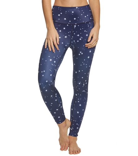 11e59a319d290 Beyond Yoga Kate Spade Night Sky High Waisted Yoga Capris at YogaOutlet.com  - Free Shipping