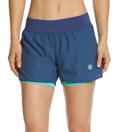 83072cd416 Asics Women's Cool 2-in-1 3.5in Short at SwimOutlet.com - Free Shipping