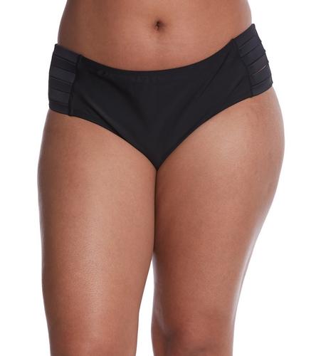 9eb74e7f02 Skye Plus Size Solid Kira Bikini Bottom at SwimOutlet.com - Free Shipping