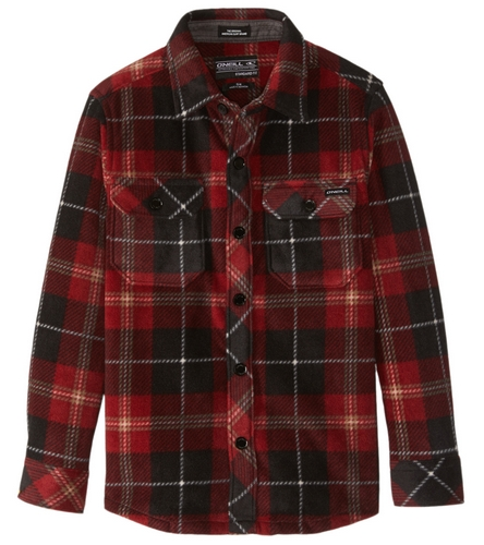 65a9acc1 O'Neill Boys' Glacier Plaid Flannel Shirt (Toddler, Little Kid) at  SwimOutlet.com