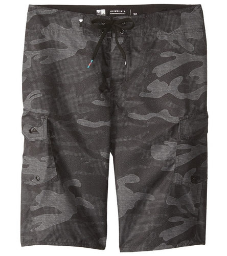 f63f30a680 Quiksilver Men's Manic Camo 22 Boardshort at SwimOutlet.com