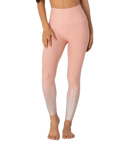 7b5e46d1da Beyond Yoga Alloy Ombre High Waisted Midi Yoga Leggings at YogaOutlet.com -  Free Shipping