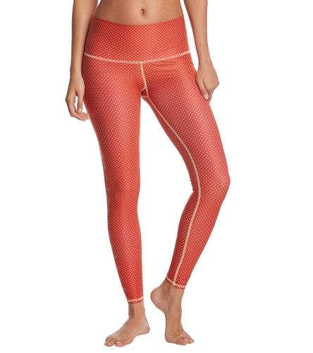 b314642e7fdbb1 Teeki Polka Dot Cowgirl Red Hot Yoga Pants at YogaOutlet.com - Free Shipping
