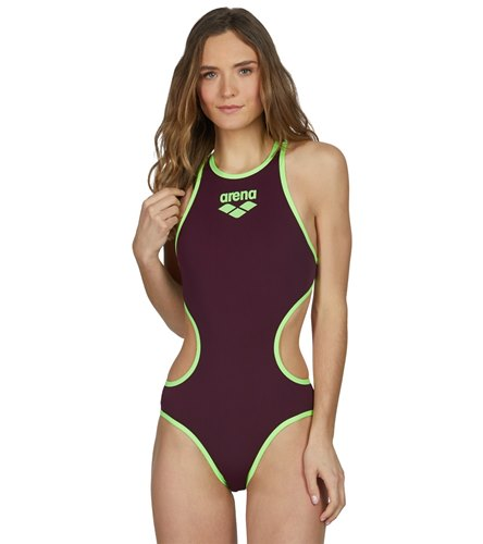 524dfb69fdc91 Arena One Logo One Piece Swimsuit at SwimOutlet.com - Free Shipping