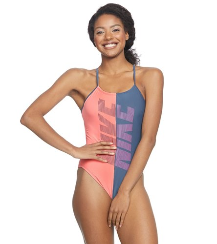 a3f269a31b Nike Women s Rift Cut Out One Piece Swimsuit at SwimOutlet.com - Free  Shipping
