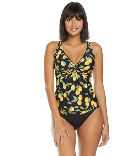 33e12d71c265d Sunsets Limoncello Forever Tankini Top (D/DD Cup) at SwimOutlet.com - Free  Shipping