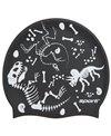 Sporti Fossil Silicone Swim Cap