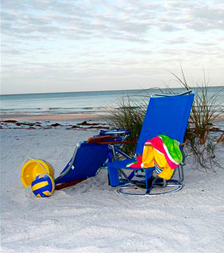 Suntracker textilene mesh beach chair at for Suntracker beach chair
