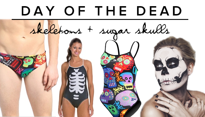 Five easy diy costumes for the pool deck day of the dead technically dia de los muertos day of the dead isnt celebrated until after halloween but it still makes a killer costume how easy is solutioingenieria Choice Image