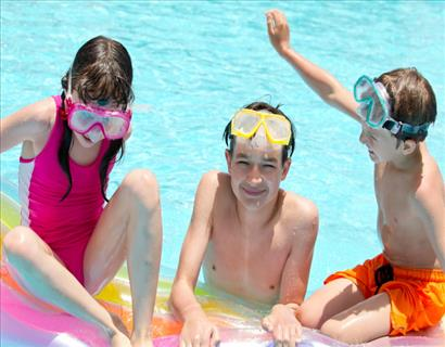 Fun and Games with Pool Toys and Floaties