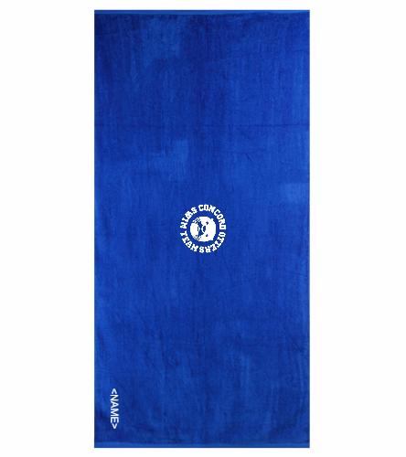 Otters Royal - Royal Comfort Terry Velour Beach Towel 32 X 64