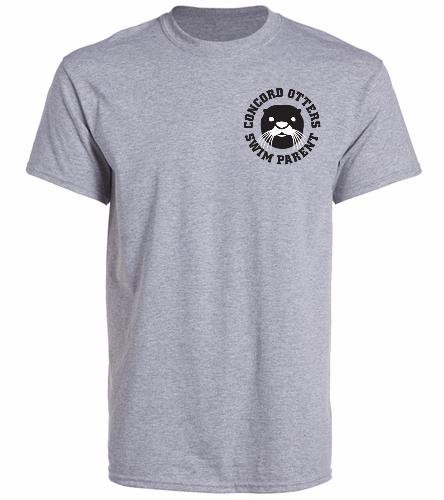 Otter Parent Shirt - SwimOutlet Unisex Cotton Crew Neck T-Shirt