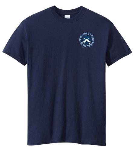 Blue t-shirt - SwimOutlet Unisex Cotton Crew Neck T-Shirt