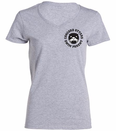 Female Parent Shirt - SwimOutlet Women's Cotton V-Neck T-Shirt