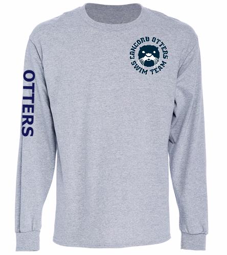 Otters  - SwimOutlet Cotton Unisex Long Sleeve T-Shirt