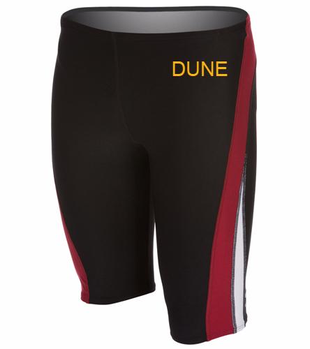 DUNE BOYS BLACK/MAROON TEAM SUIT - Speedo Launch Splice Endurance + Jammer Swimsuit