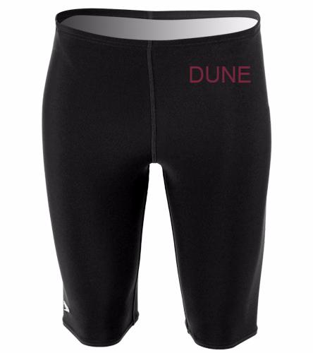 DUNE BOYS BLACK TEAM SUIT - Speedo Men's Solid Endurance+ Jammer Swimsuit