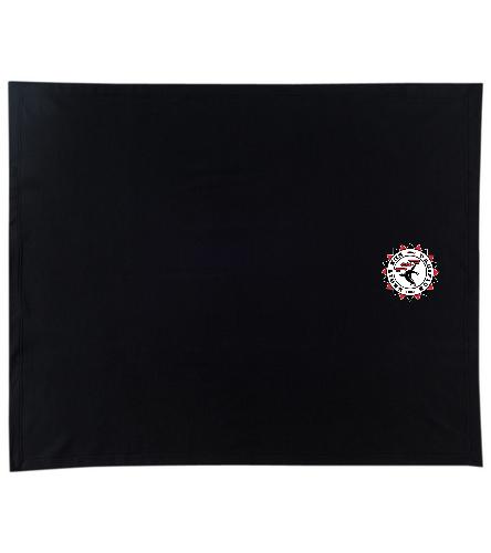 Pacifica Sea Lion Team Logo Blanket - Embroidered - SwimOutlet Stadium Blanket