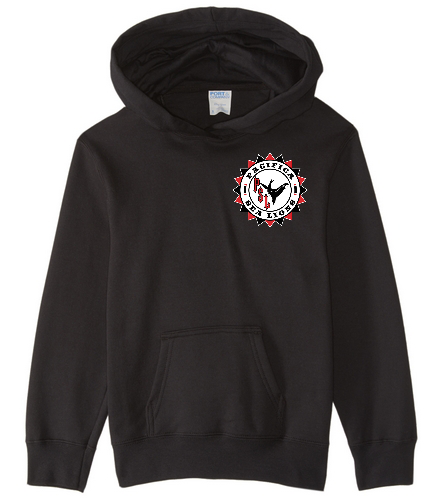 Pacifica Sea Lions YOUTH Sweatshirt - Embroidered - Black - SwimOutlet Youth Fan Favorite Fleece Pullover Hooded Sweatshirt