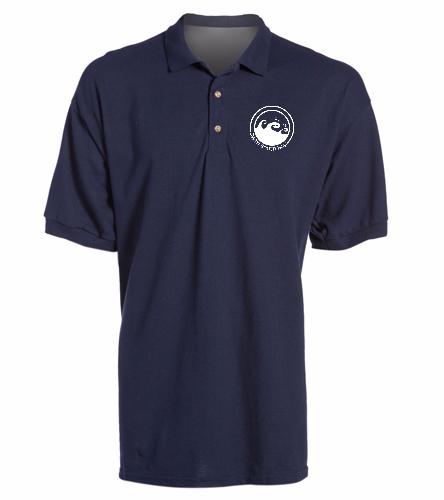 Polo Shirt - SwimOutlet Ultra Cotton Adult Men's Pique Sport Shirt
