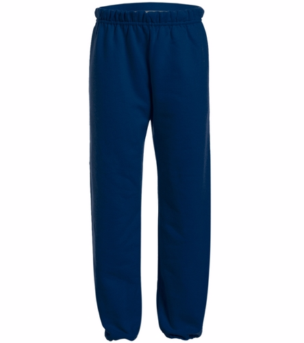 Youth Navy Sweatpants - SwimOutlet Heavy Blend Youth Sweatpant