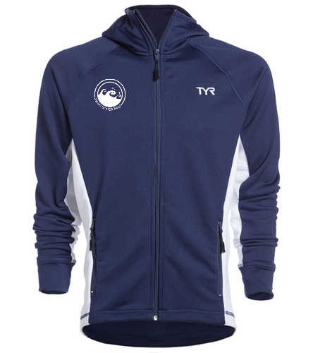 Men's Victory Warmup Jacket - TYR Alliance Victory Male Warm Up Jacket