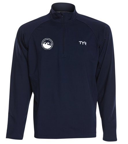 Men's zip pullover - TYR Men's Alliance 1/4 Zip Pullover Jacket