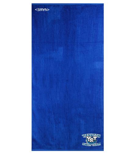 Yankton Royal  - Royal Comfort Terry Velour Beach Towel 32 X 64