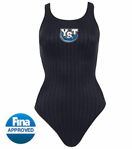 Yankton Black  - Speedo Aquablade Female Recordbreaker Tech Suit Swimsuit