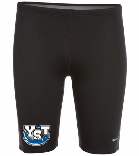 Yankton Black - Sporti Poly Pro Solid Jammer Swimsuit