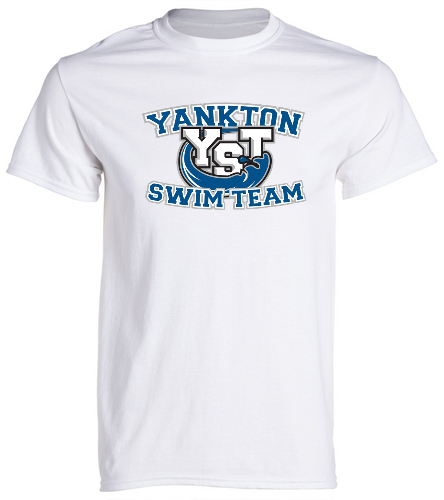 Yankton White  -  Unisex 100% Cotton 30's RS S/S