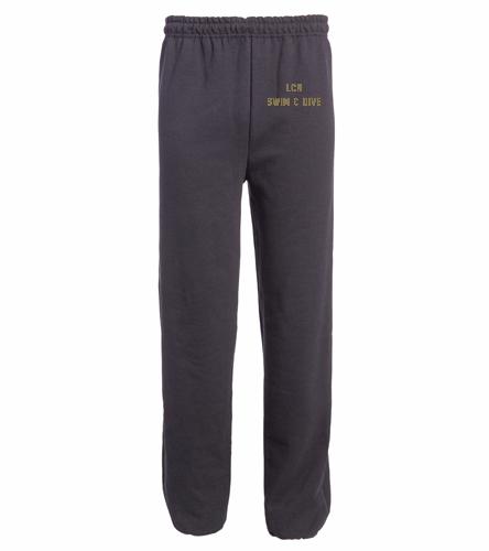 LCN - SwimOutlet Heavy Blend Unisex Adult Open Bottom Sweatpants
