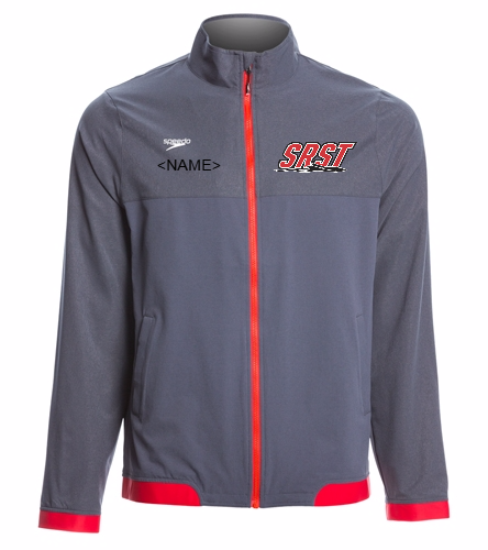 SRST - Speedo Men's Tech Warm Up Jacket