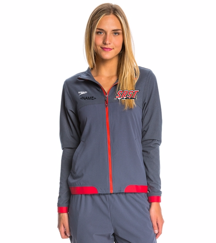 SRST - Speedo Women's Tech Warm Up Jacket