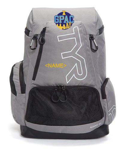 GPAC Backpack Grey - TYR Alliance 45L Backpack