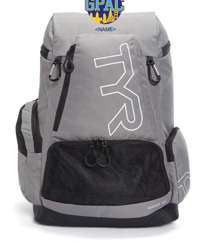 GPAC Grey  - TYR Alliance 45L Backpack