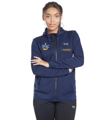 GPAC - TYR Women's Team Full Zip Hoodie