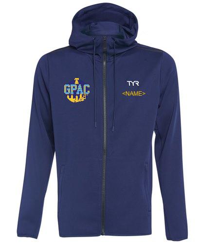 GPAC - TYR Men's Team Full Zip Hoodie