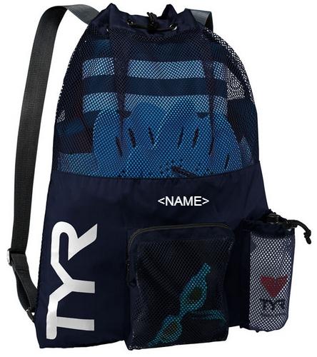 USMS 2021 TYR Last One Fast One  - TYR Big Mesh Mummy Backpack III
