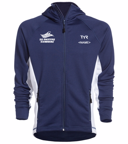 USMS - TYR Alliance Victory Male Warm Up Jacket