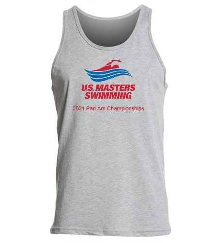 2021 Pan American Masters Championship Team -  - SwimOutlet Unisex Jersey Tank