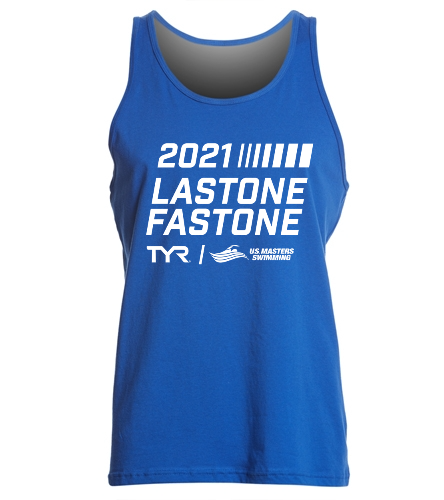 USMS 2021 TYR Last One Fast One  - SwimOutlet Unisex Jersey Tank